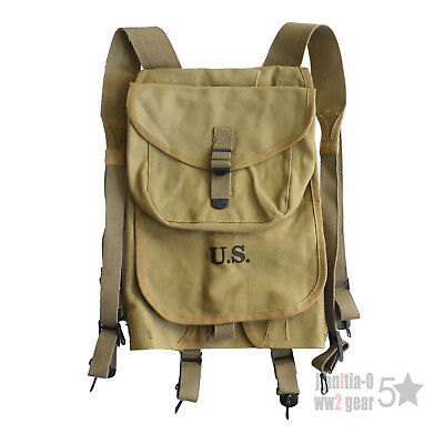 Reproduction Ww2 Us Army M-1928 Haversack Knapsack Bag Field Backpack