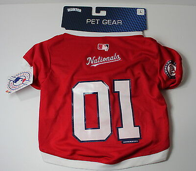Washington Nationals LARGE Dog Jersey NWT MLB