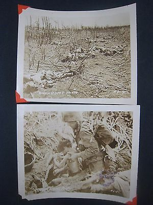 Vintage WW2 PHOTOS...lot of 2...USMC....# 567-179...5x4