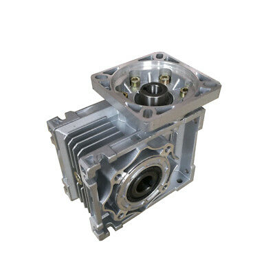 NMRV40 Worm gearbox Reduction ratio 5:1 to 100:1 for NEMA34 stepping motor