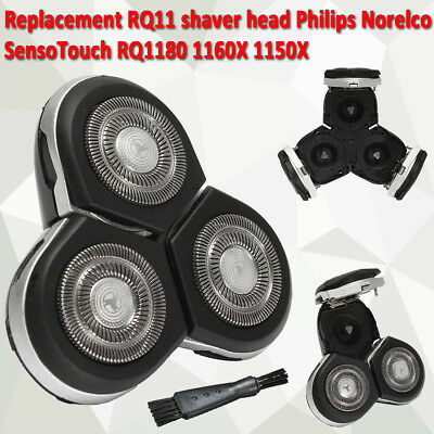 Replacement RQ11 Shaver Head for Philips RQ1180 1160X 1150X Razor with Brush New