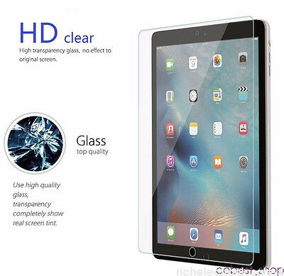 """Premium Tempered Glass Screen Protector Film For iPad PRO 12.9"""" Air 1 2 9.7"""" HH3"""
