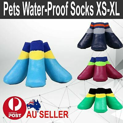 Dog Socks Non Slip Grip Anti-Skid XS S M L XL  - Puppy Cat Pet Shoes Slippers