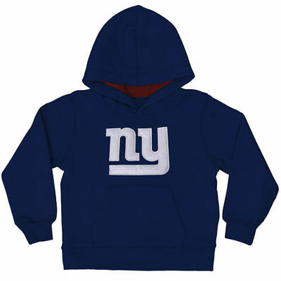 New York Giants Toddler Royal Blue Fan Gear Primary Logo Pullover Hoodie - NFL