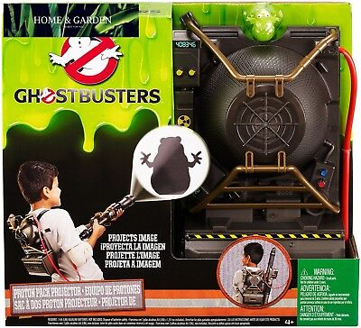 Ghostbusters Electronic Proton Projector BackpackBlaster Ghost Hunting Gear New