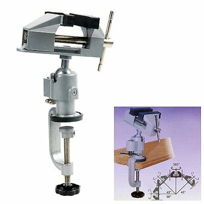 UNIVERSAL TABLE BENCH Vise Work Bench Clamp Swivel Rotating Hobby - Rotating work table
