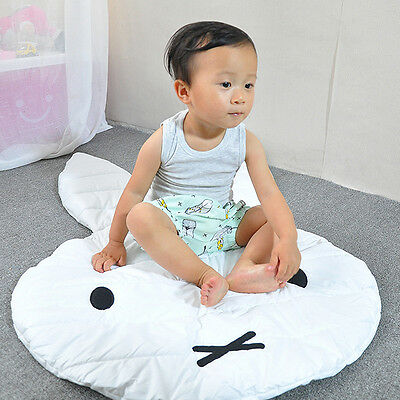 Baby Kids Todler Bunny Play Rug Picnic Cushion Crawling Mat Playing Carpe Gift