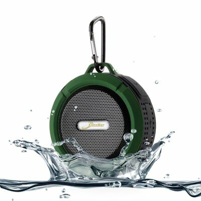 VicTsing Shower Speaker, Wireless Waterproof Speaker with 5W Driver, Suction Cup