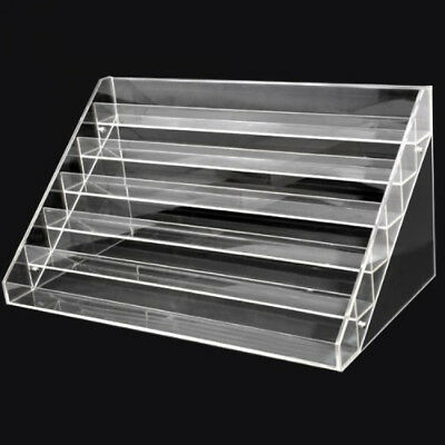 Nail Polish Display Stand Clear Acrylic Rack Salon Makeup Holder Organizer New