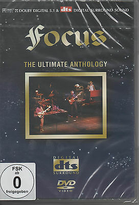 Focus Jan Akkerman The Ultimate Anthology DVD NEU Hocus Pocus Progressive Rock