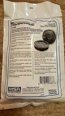 MSA P100 Micro Low Profile Cartridge Filters# 815369