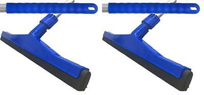 45cm Professional Hard Floor Cleaning Squeegee & Strong Alloy Handle Tiles Wet