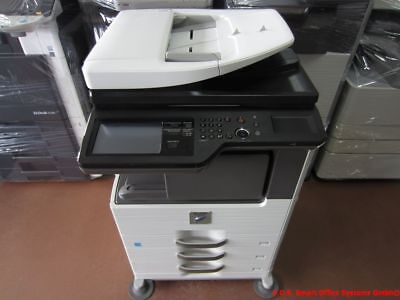 Sharp MX-M314N Kopierer Drucker Scanner FAX Finisher Hefter PostScript MX-PK11