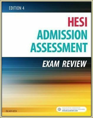 HESI ~ ADMISSION ASSESSMENT EXAM REVIEW (EDITION 4,Paperback,2016)