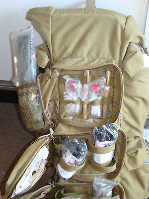 Casualty Evac Bag WARRIOR AID LITTER KIT North American Rescue Survival 1st Aid
