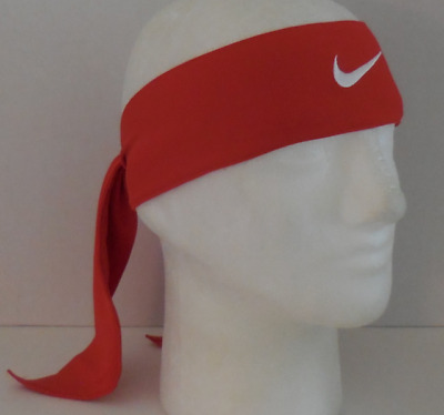 afc45c8cab748 NIKE DRI-FIT HEAD Tie 2.0 Color University Red White Size OSFM New ...