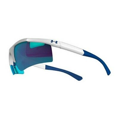 Under Armour 8600082-104161 White & Grey Core 2.0 Sunglasses w/Blue Lenses