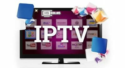 12 MONTH IPTV Subscription Open Box V8s V9s ZGemma Android Smart TV IPTV + VOD
