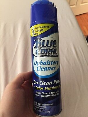 blue coral upholstery cleaner