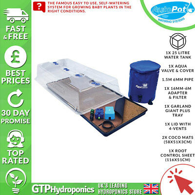 Autopot Propagator - Easy2Propagate - Full Kit w/ Flexi-Res - Seeds/Cuttings
