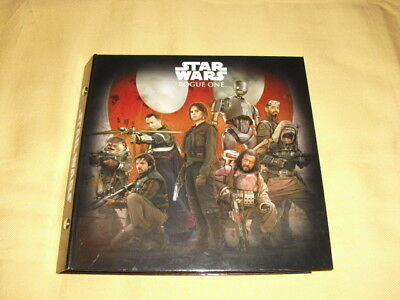 STAR WARS Rogue one Classeur Cosmic shell Complet