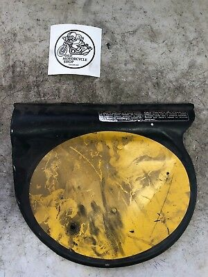 1976 Can Am 250 Left Side Plate Cover
