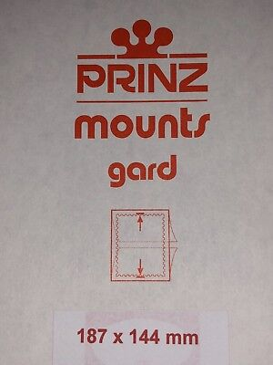 Prinz Stamp Mounts 187/144   ***We Are A Veteran Supportive Business***