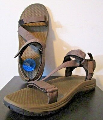 9023826943a NEW Mens 12 Columbia Wave Train Walking Travel Water Active Sandal - Mud