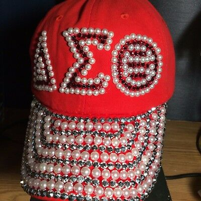 Delta Sigma Theta Inspired Red Baseball Cap