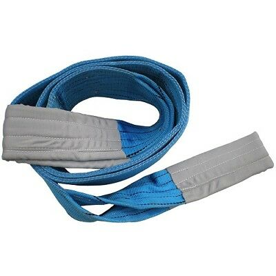 New Heavy Duty duplex 8 Ton x 3 to 10 Mtr Flat Webbing Sling Strap Cargo Lifting