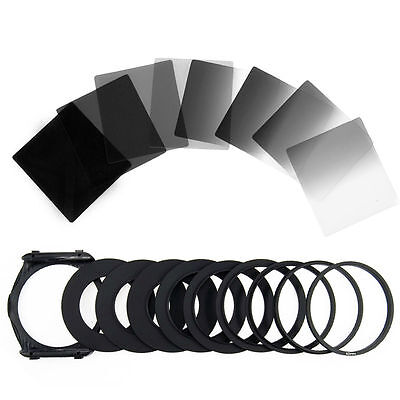 8pcs Full Graduated Neutral Density ND Color Filter Set for Cokin P Series LF291