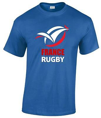 FRANCE RUGBY Fan Men T Shirt Rugby & Sports Lover Unisex New