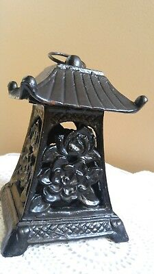 Heavy Metal Asian Pagoda Lantern Tealight