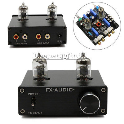 Audio 6J1 Tube CD &MM Phono RIAA Turntable Pre-Amplifier Hi-Fi Preamplifier New