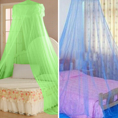 KE_House Bedding Decor Summer Sweet Style Round Bed Canopy Dome Mosquito Net HOT