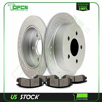 Brake System 2003 Fits Buick Park Avenue Base Front Ceramic Brake Pads with Hardware Kits and Two Years Manufacturer Warranty