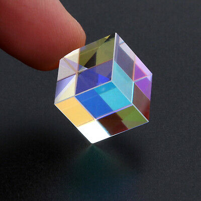 Prism Laser Beam Combine Cube Prism Mirror for 405~450nm Blue Diode 5W 12.7mm