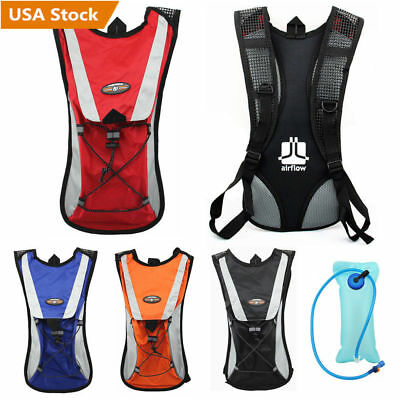 Sporting Backpack 2L Water Bladder Bag Hydration Packs Camelbak Hiking Camping X