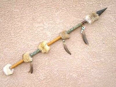 Native American 4 foot Coyote Spear/Lance