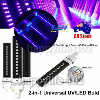 UV LED Lamp Bulb For UV Lamp Nail Dryer Replacement  Machine Curing 365+405nm 9W