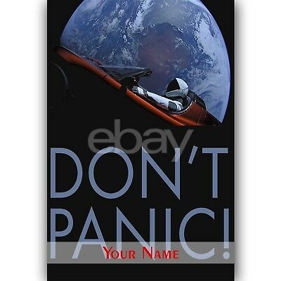 Fabric Poly Posters #54 2/' x 3/' Elon Musk SpaceX Tour Space NASA Art Banner Flag