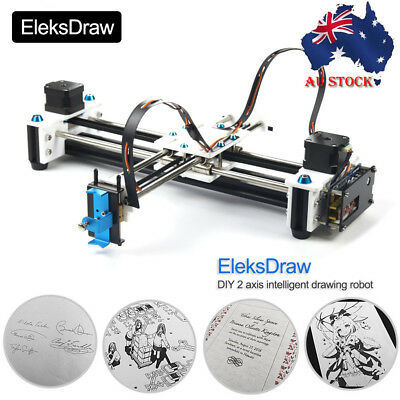 EleksDraw Mini XY 2 Axis CNC Pen Plotter EleksDraw Laser Drawing DIY Machine