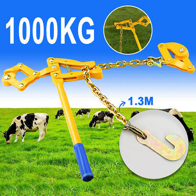 1000kg Load Wire Fencing Strainer Plain & Barbed Chain Fence Repair Tool Gripple