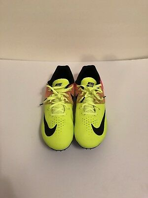 premium selection 421d9 f8643 Nike Zoom Rival S Track Running Spikes Volt Pink Men s Size 12 (806554-999