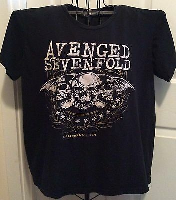 Avenged Sevenfold concert t-shirt '14