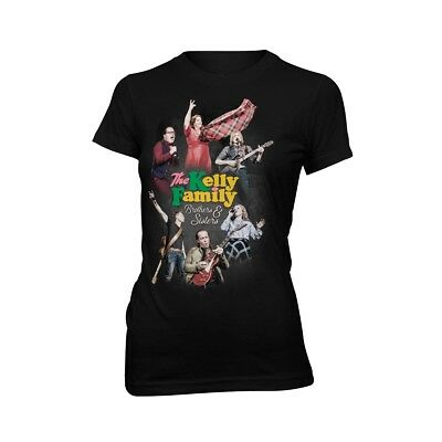 The Kelly Family - Brothers and Sisters - Girlie Shirt - schwarz - S-XXL
