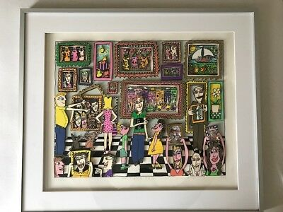 """James Rizzi """"PICTURE THIS"""" 3-D"""