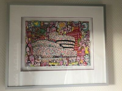 James Rizzi LETS ALL GATHER AT THE GUGGENHEIM 3-D