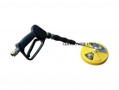 """Whirlaway 14"""" Rotary Surface Cleaner  85.403.014 c/w lance and trigger,  patio"""