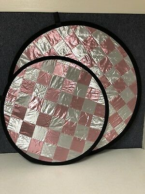 "Touch Of Warmth Reflector 32"" and 42"" Round Pack"